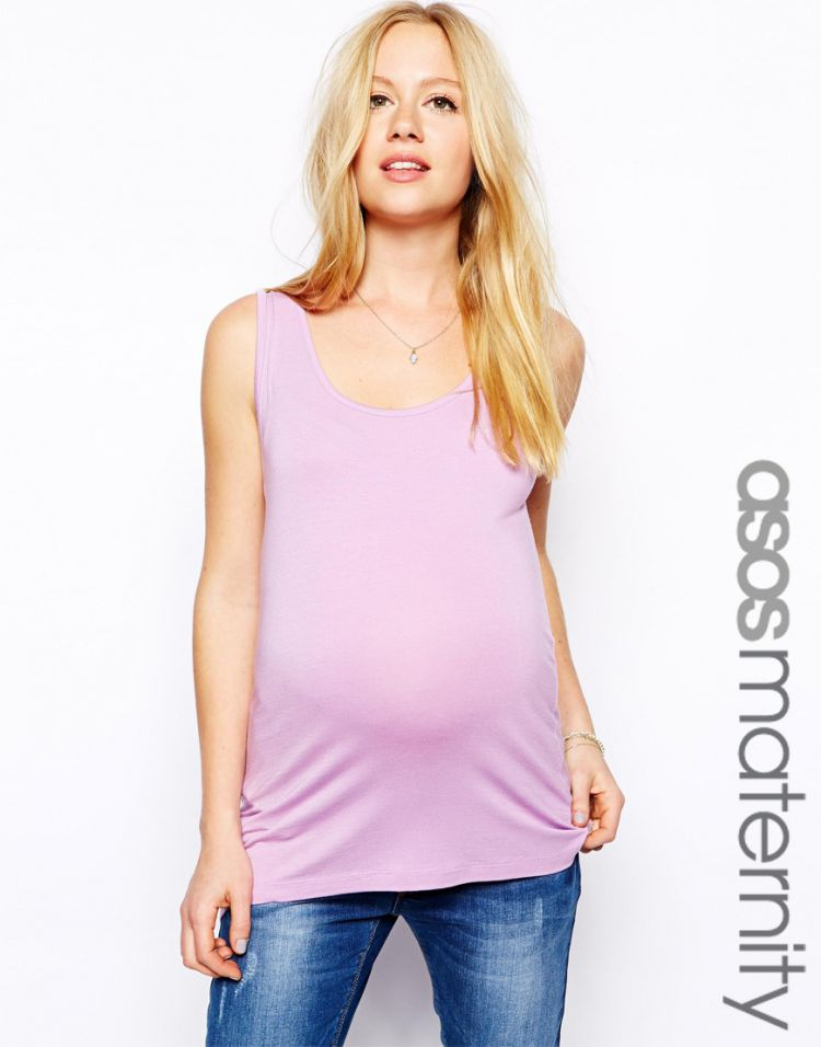 PRODUCT_IMAGE ASOS Maternity Exclusive Vest In Soft Touch Fabric
