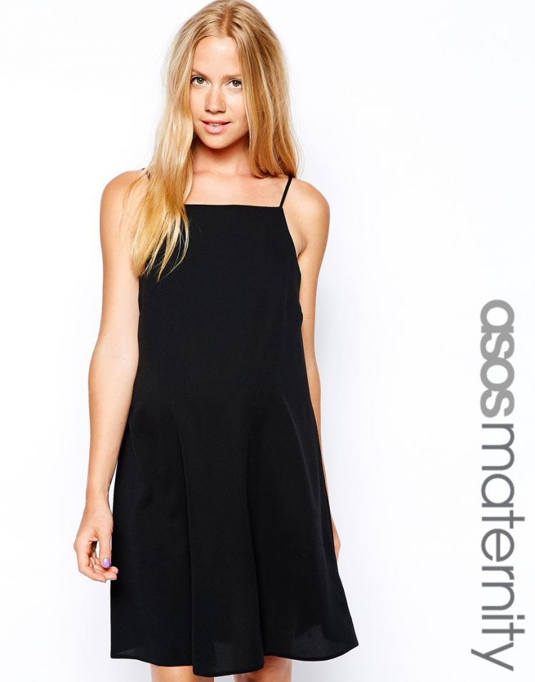 PRODUCT_IMAGE ASOS Maternity Shift Dress In Crepe