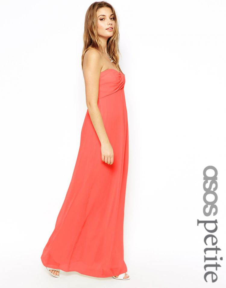PRODUCT_IMAGE ASOS PETITE Bandeau Maxi Dress
