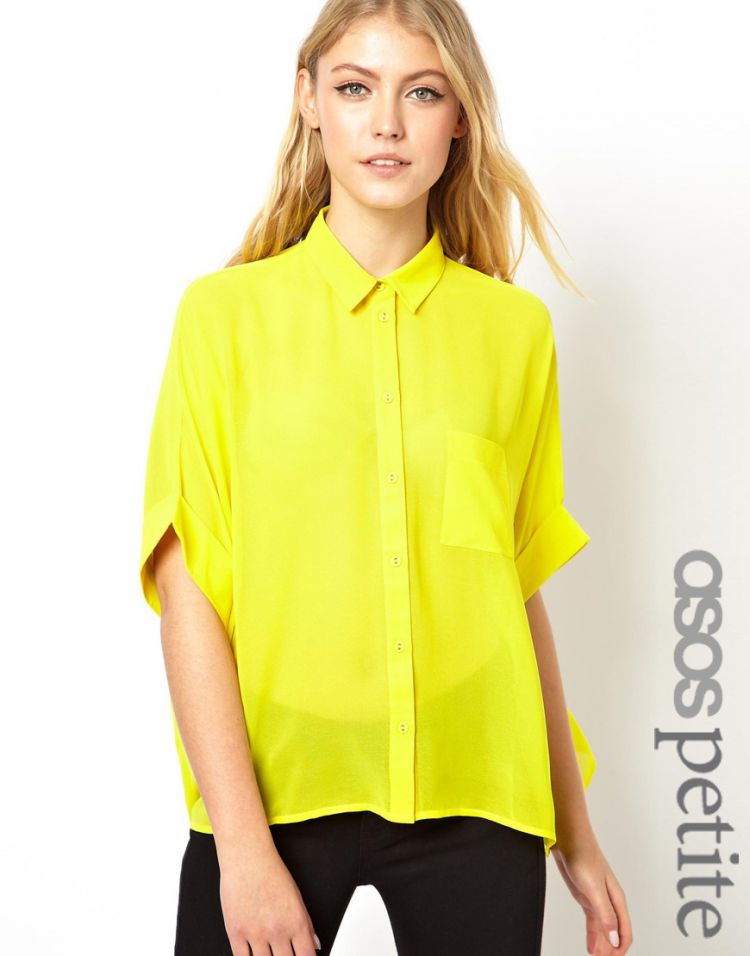 PRODUCT_IMAGE ASOS PETITE Swing Blouse with Kimono Sleeve