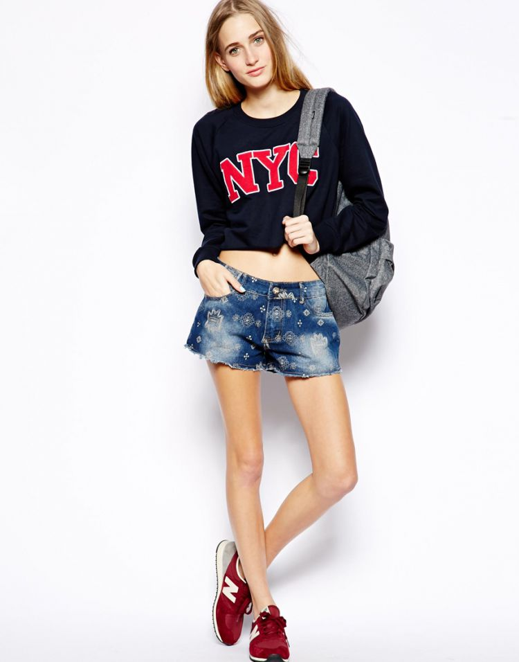 PRODUCT_IMAGE Brave Soul Lottie Denim Shorts