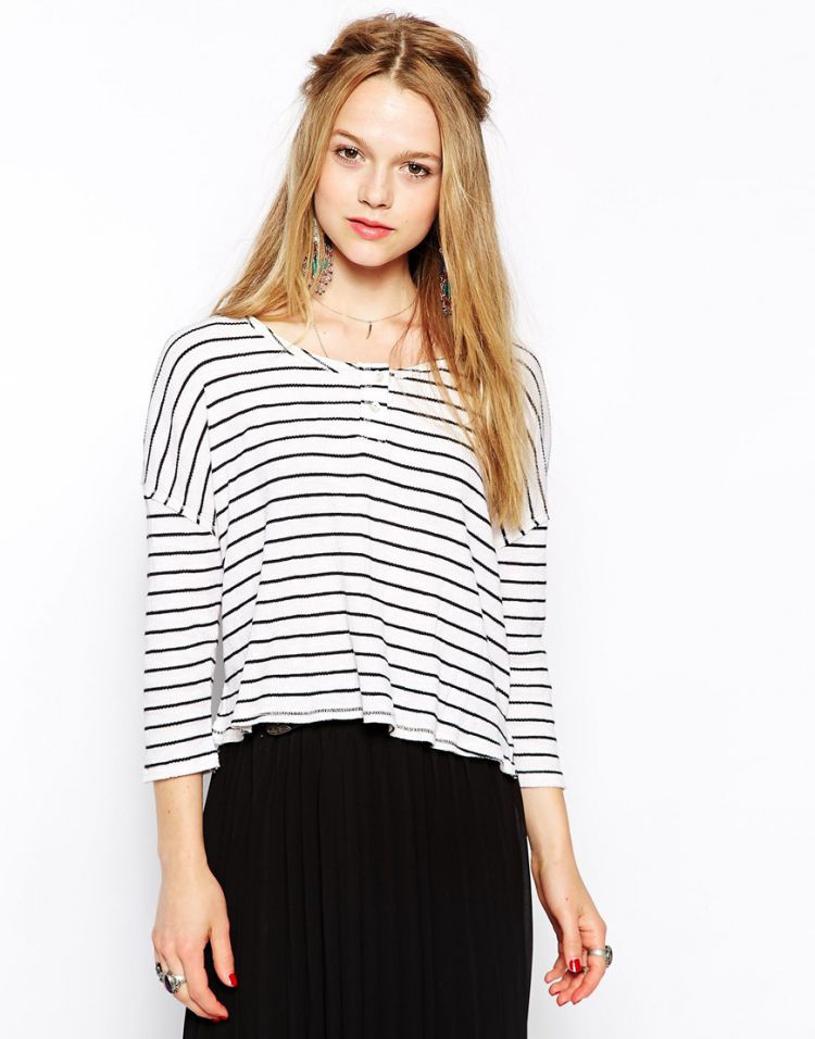 PRODUCT_IMAGE Free People Boat Neck Striped T-Shirt