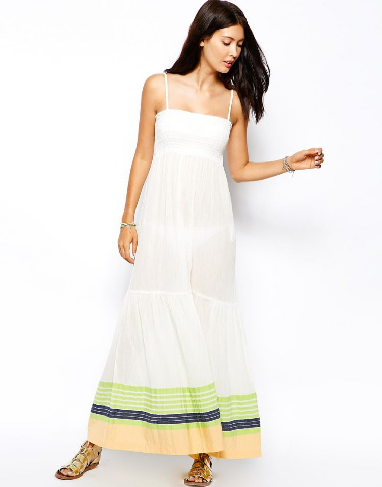 PRODUCT_IMAGE French Connection Sunny Yarn Stripe Maxi Dress