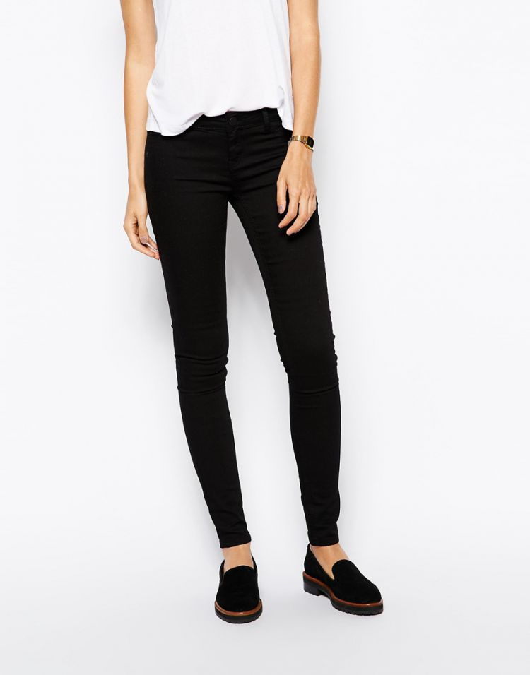 PRODUCT_IMAGE Just Female Low Waist Black Skinny Jeans