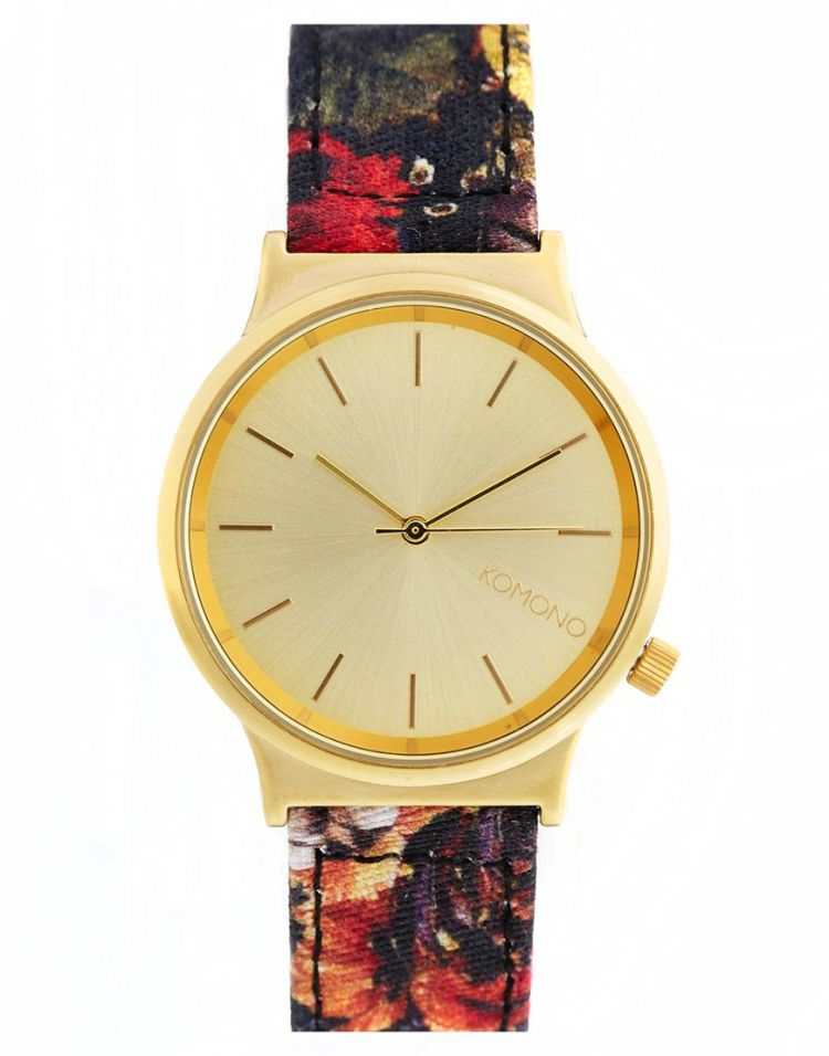 PRODUCT_IMAGE Komono Baroque Flowers Wizard Watch