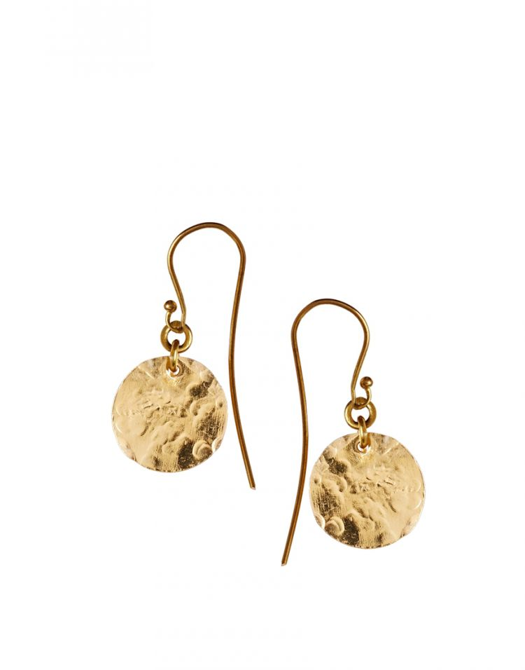 PRODUCT_IMAGE Made Mini Shilai Katoto Round Disc Earrings