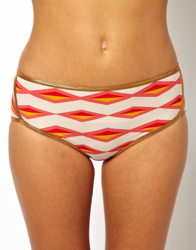 PRODUCT_IMAGE Marc By Marc Jacobs Bound Wrap Around Hipster Bikini Bottom