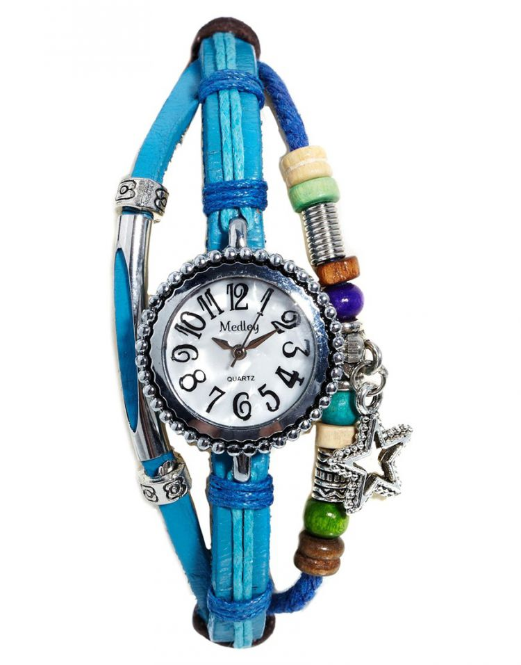 PRODUCT_IMAGE Medley Turquoise Friendship Watch
