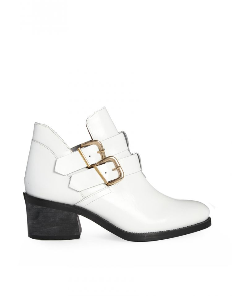 PRODUCT_IMAGE Miista Luna White Buckle Boots