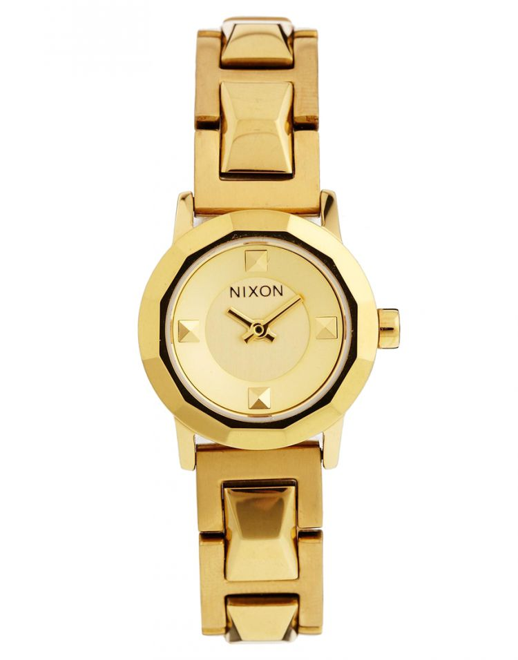 PRODUCT_IMAGE Nixon The Mini B SS Gold Watch