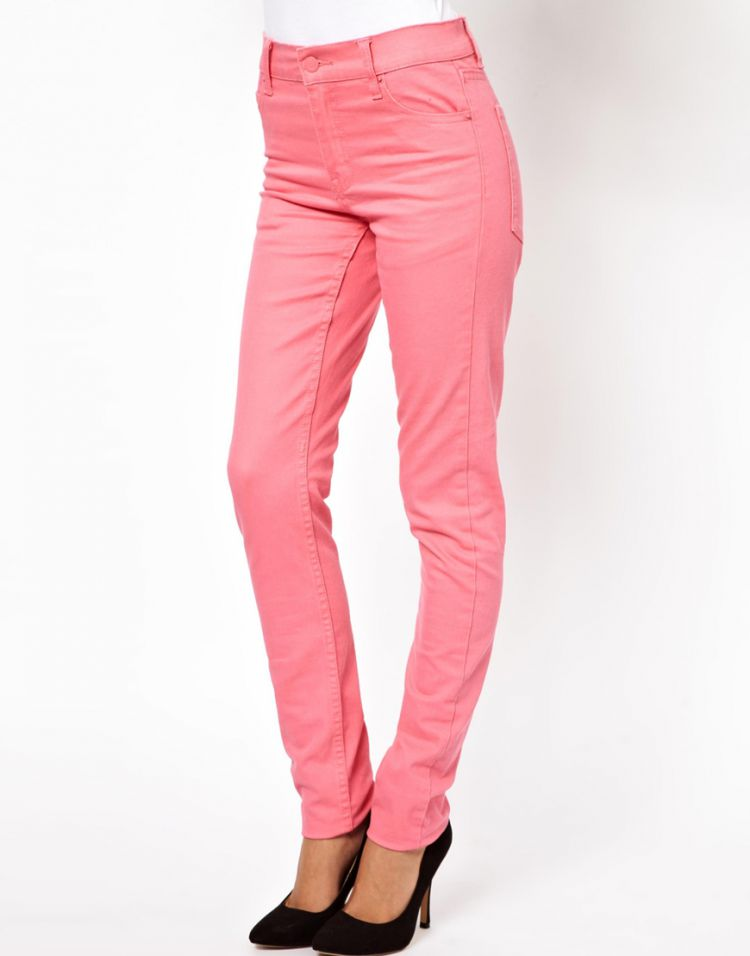 PRODUCT_IMAGE Cheap Monday Skinny Jeans In Pink