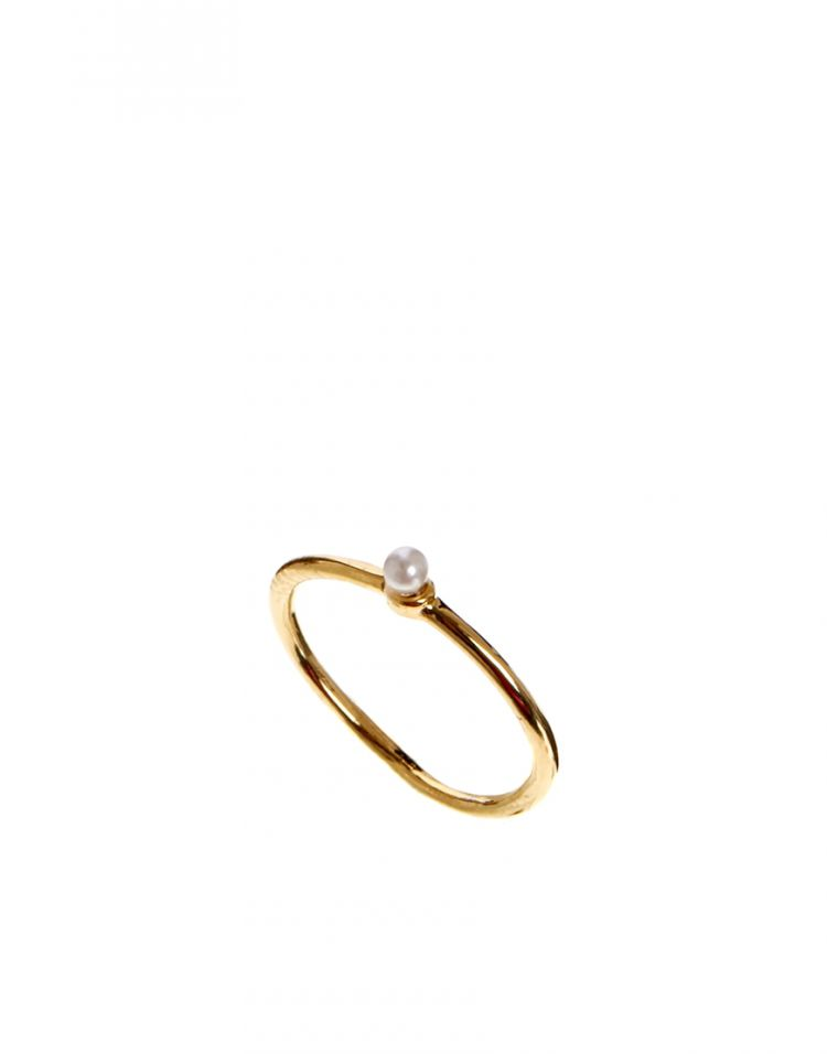 PRODUCT_IMAGE Limited Edition Fine Faux Pearl Pinky Ring