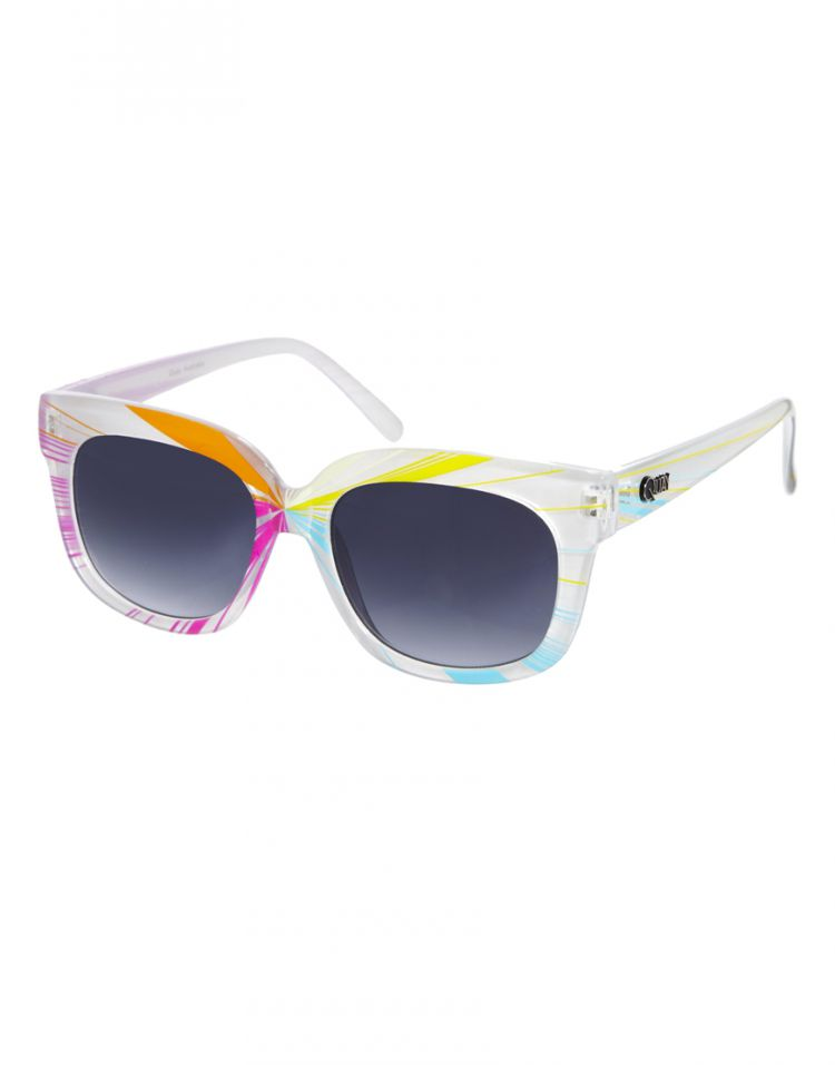 PRODUCT_IMAGE Quay Thick Framed Multicoloured Sunglasses