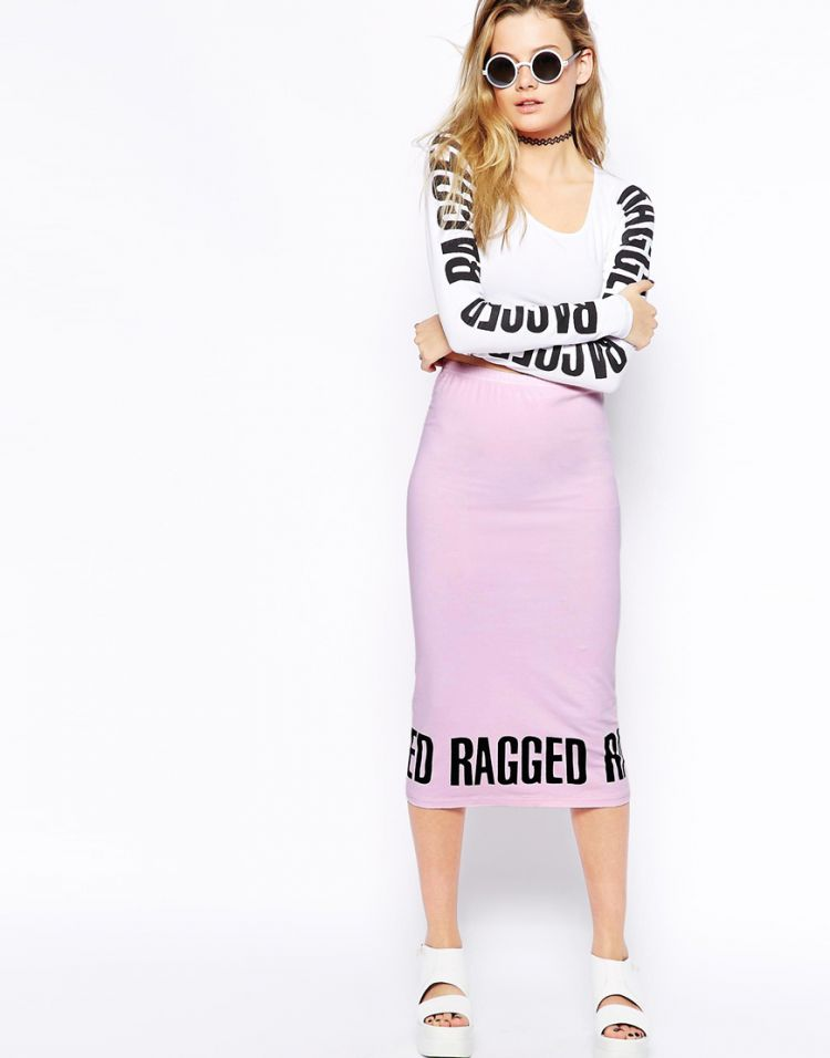 PRODUCT_IMAGE The Ragged Priest Stevie Midi Skirt