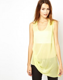 2nd Day Twilly Asymmetric Hem Top