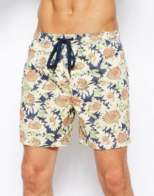 Afends Sunflower Swim Shorts