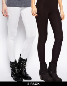 ASOS 2 Pack Full Length Leggings