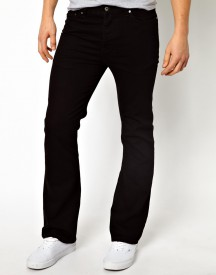 ASOS Bootcut Jeans In Black