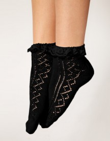 ASOS Crochet Lace Frill Socks
