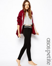 ASOS PETITE Lounge Legging with Stripe Elastic Band