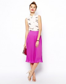 ASOS Pleated Midi Culottes