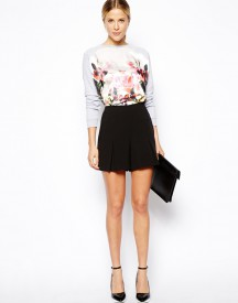 ASOS Shorts With Pleat Detail