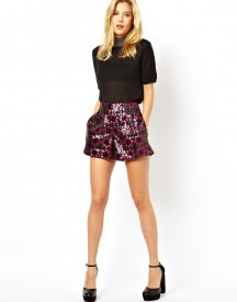 ASOS Shorts with Sequin Stars