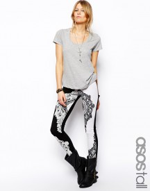 ASOS TALL High Waisted Leggings WITH Bandana Print