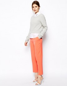 ASOS Trousers in Slim Ankle Grazer