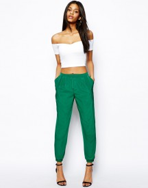 ASOS Trousers with Elastic Ankle Detail