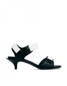 Cheap Monday Exclusive Kitten Monochrome Heeled Sandals
