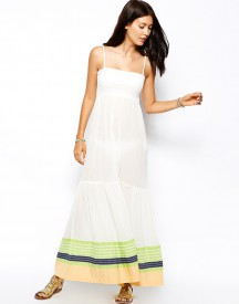 French Connection Sunny Yarn Stripe Maxi Dress
