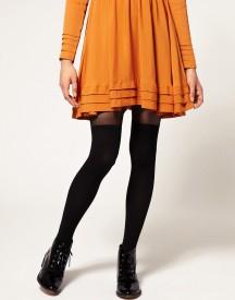 Gipsy Mock Ribbed Over the Knee Tights