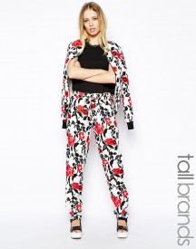 Girls On Film Tall Floral Print Trouser