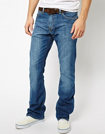 Levis Jeans 527 Slim Bootcut Fit Mostly Mid Blue
