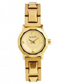 Nixon The Mini B SS Gold Watch