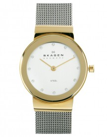 Skagen Klassik Gold Face Watch