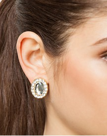 Snö Of Sweden Diana Small Stone Earring