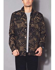 Abstract Military Jacket