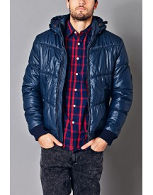 Coated Puffer Jacket