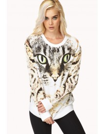 Bold Cat Sweatshirt