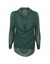 Blouse Waterfall Green