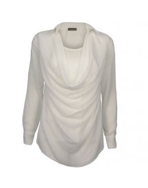 Blouse Waterfall Off-white