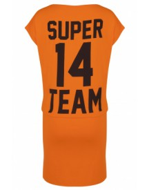 "WK ""SuperTeam"" Dress Orange"