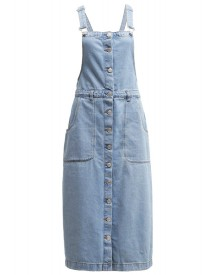 ADPT. ADPTFAROUT Spijkerjurk light blue denim