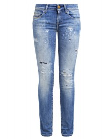 Replay ROSE Slim fit jeans mid destroyed