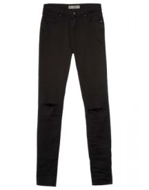 Topshop LEIGH SKINNY Slim fit jeans black