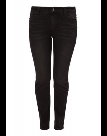 Triangle Slim fit jeans black