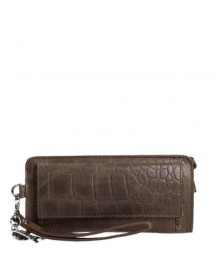 by LouLou clutch Fanny Pack dark brown