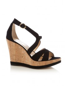 Fab. Bow Wedge zwart
